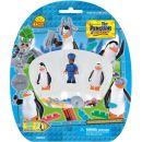 Cobi Tučňáci z Madagaskaru 26003 Tři figurky - Tučňáci a strážník 2