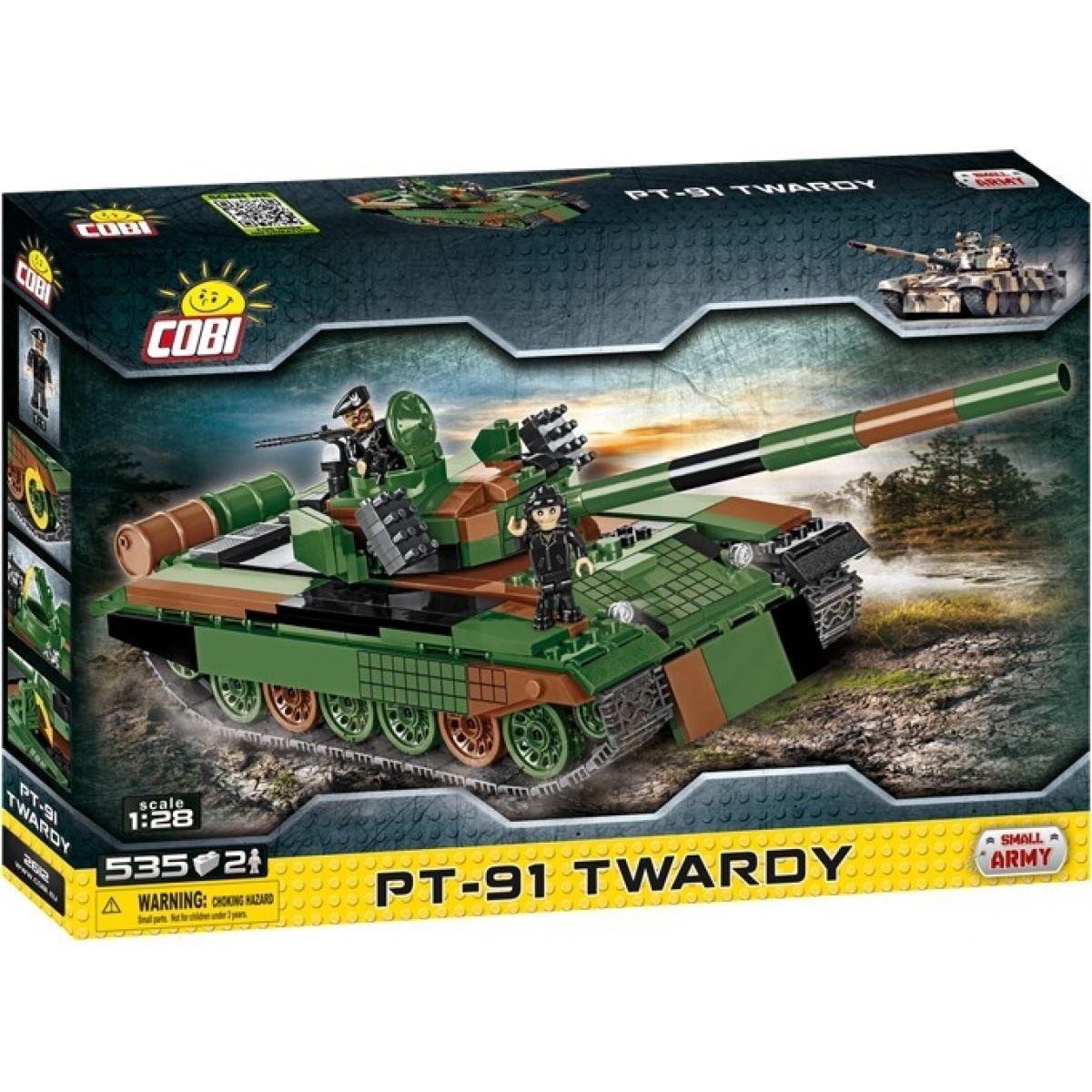 Cobi 2612 Malá armáda Tank PT91 Twardy