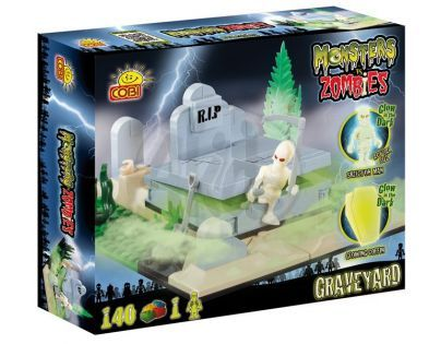 Cobi 28141 - Monsters vs Zombies - Odpočívej v pokoji