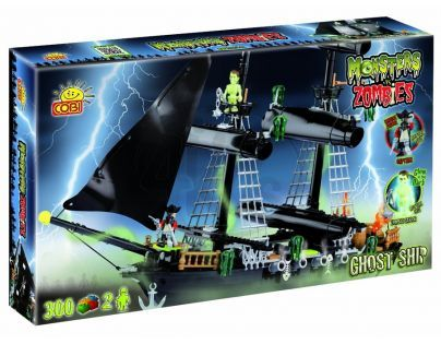 Cobi 28300 - Monsters vs Zombies - Loď duchů