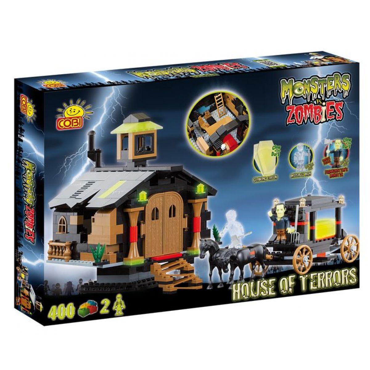COBI 28400 - Monster vs. Zombies - Kaple hrůzy