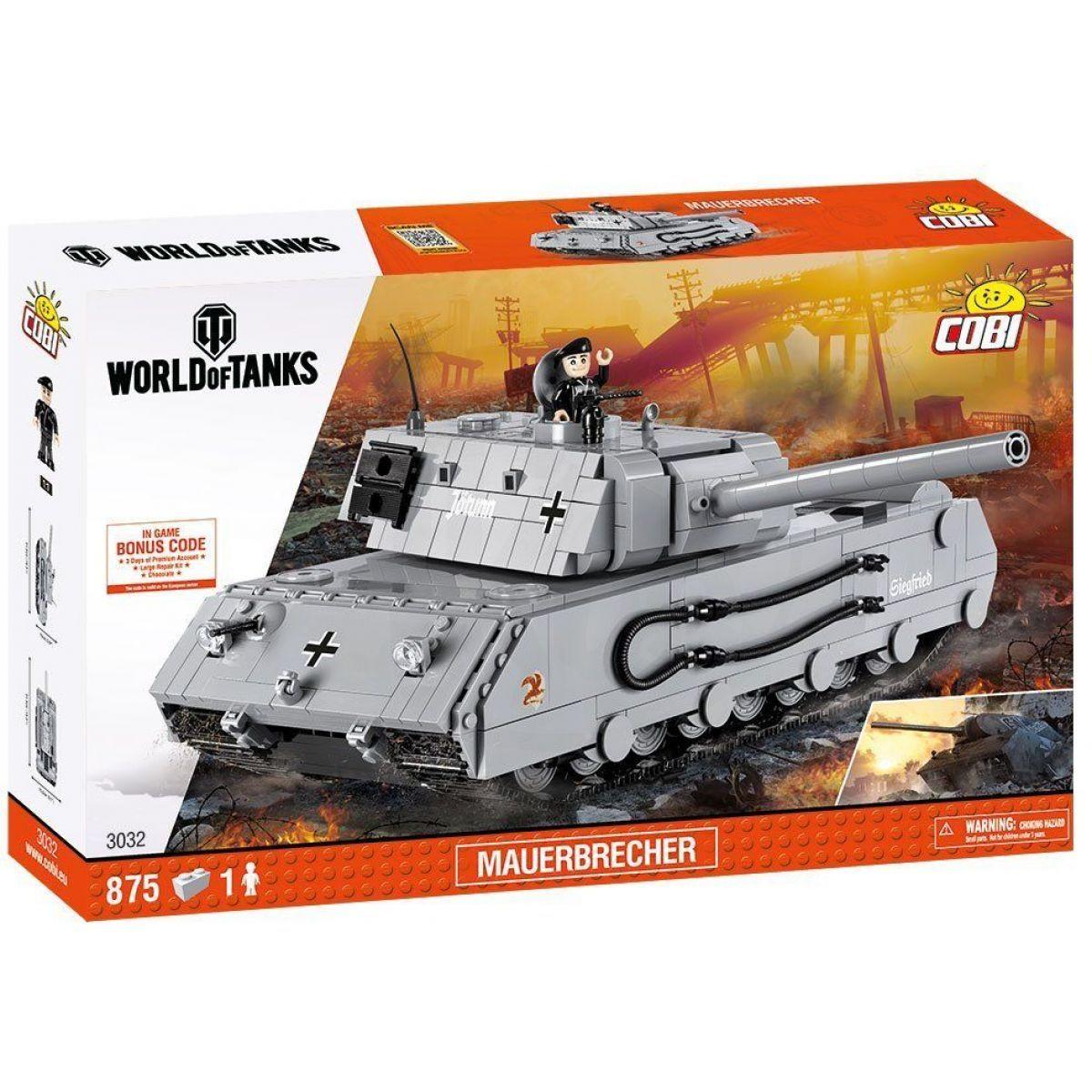 Cobi 3032 World of Tanks Wot Mauerbrecher