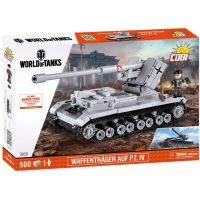 Cobi 3033 Malá armáda World of Tanks Waffentrager E 100