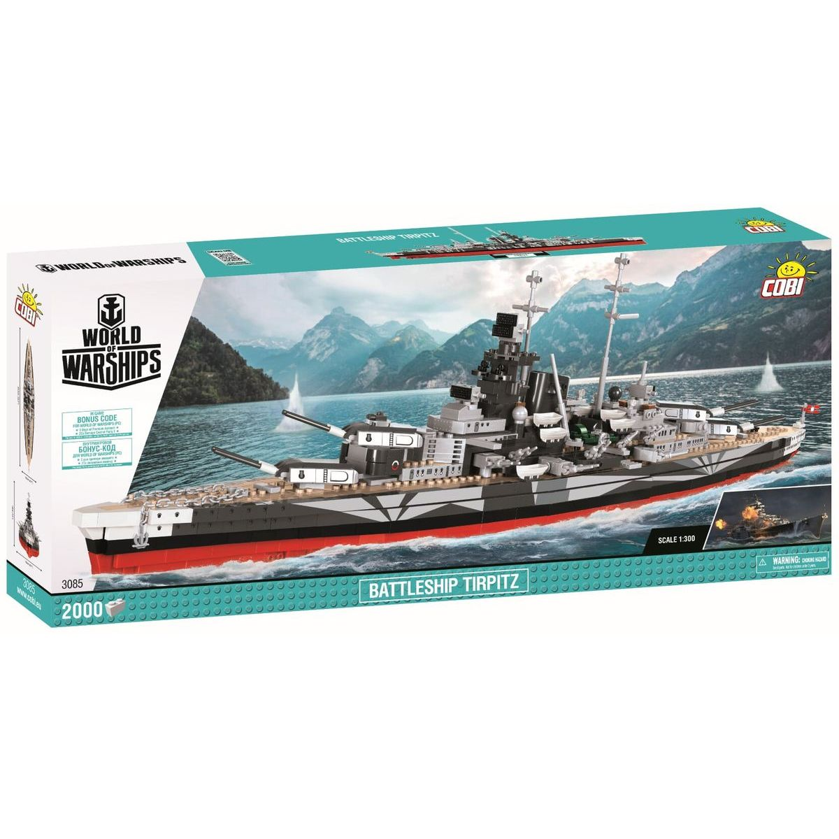 Cobi World of Warships Bitevník Tirpitz