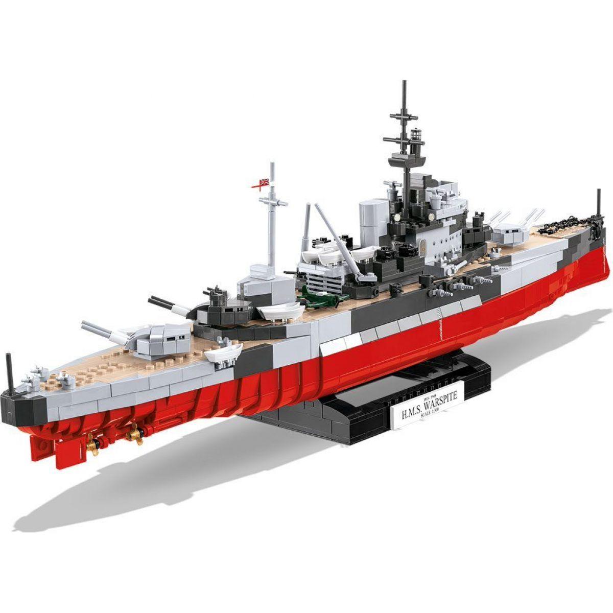 Cobi 4820 Malá armáda II. svetová vojna HMS Warspite 1: 300
