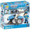 Cobi Action Town 1544 Policejní sněžný skútr 2
