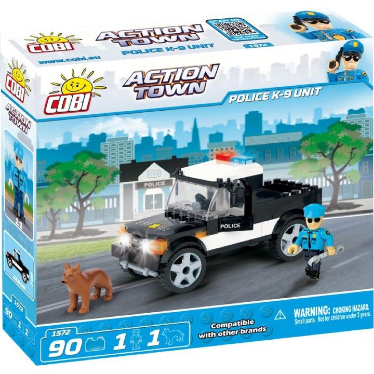 Cobi Action Town 1572 Policie K-9 Unit
