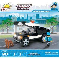 Cobi Action Town 1572 Policie K-9 Unit 3