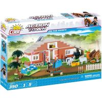 Cobi Action Town 1867 Farma Stáje 2
