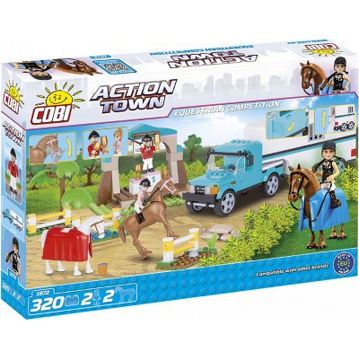 Cobi Action Town 1872 Equestrian Competition