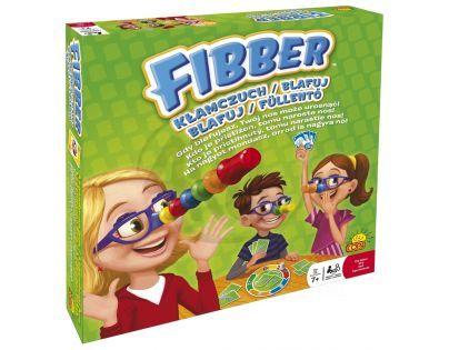 SPINMASTER 94545 - BLAFUJ (Fibber) - zábavná rodinná stolní hra
