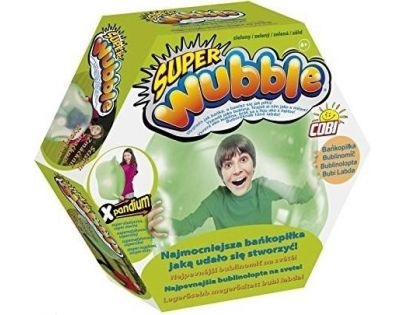 Cobi Bublinomíč s pumpičkou Zelená