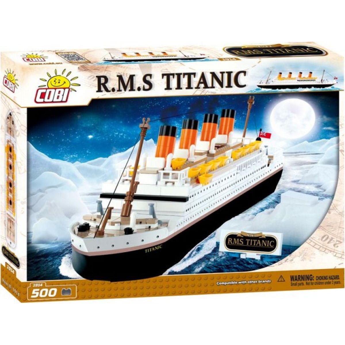Cobi Creative Power 1914 Titanic