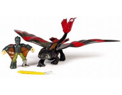 Cobi Jak vycvičit draka drak a bojový stroj - Hiccup a Toothless s červenými křídly