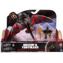 Cobi Jak vycvičit draka drak a bojový stroj - Hiccup a Toothless s červenými křídly 3