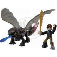 Cobi Jak vycvičit draka drak a bojový stroj - Hiccup a Toothless se střelou