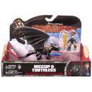 Cobi Jak vycvičit draka drak a bojový stroj - Hiccup a Toothless se střelou 2