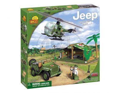 COBI 24300 - Jeep Willys - Jeep Willys polní nemocnice