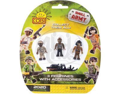 Cobi Malá armáda 2020 Tři figurky