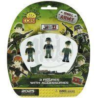 Cobi Malá armáda 2025 Tři figurky