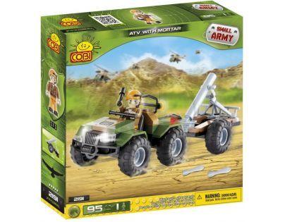 Cobi Malá armáda 2191 ATV s minometem