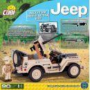 Cobi Malá armáda 24093 Jeep Willys MB North Africa 1943 3