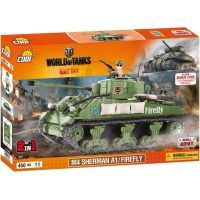 Cobi Malá armáda 3007 World of Tanks M4 Sherman A1/Firefly
