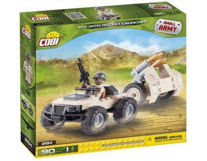 Cobi Malá armáda 2194 ATV s raketometem