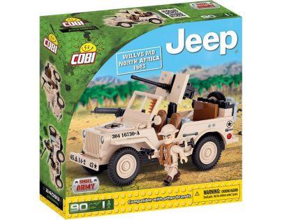 Cobi Malá armáda 24093 Jeep Willys MB North Africa 1943