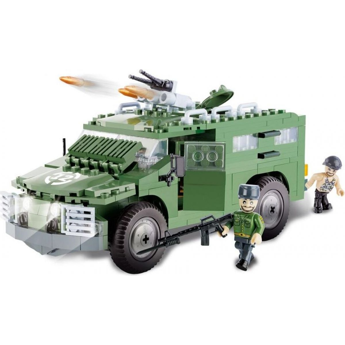 Cobi Malá armáda 2414 Ozbrojene vozidlo