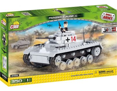 Cobi Malá armáda 2459 Panzer II Ausf. C
