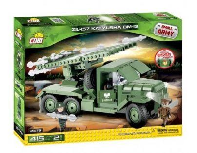 Cobi Malá armáda 2479 ZIL-157 Katyusha BM-13