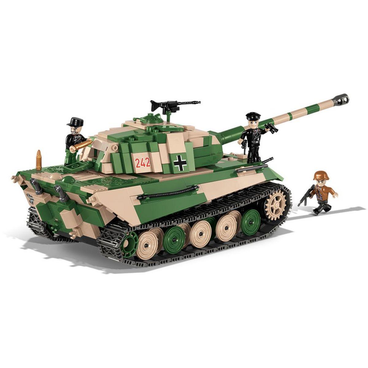 Cobi Malá armáda 2480A SD.KFZ. 182 Konigstiger Tiger II P