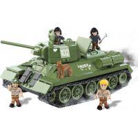 Cobi Malá armáda 2485 T34 Čtyři z tanku a pes 2