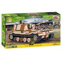 Cobi Malá armáda 2507 II WW Panzerjager Tiger SdKfz 184 Elefant