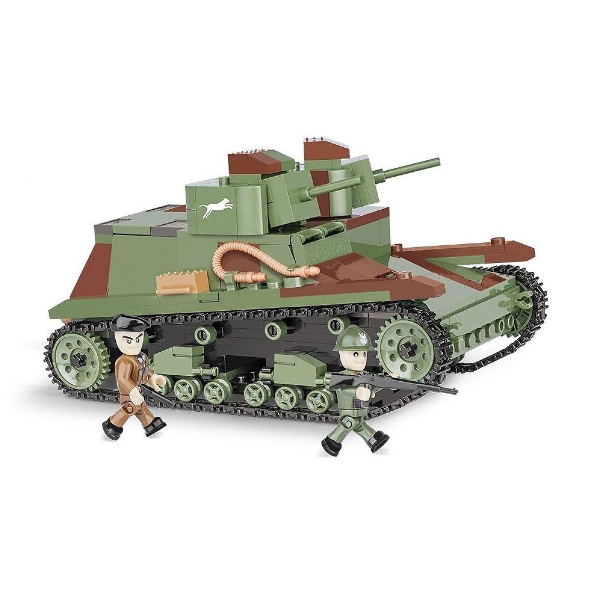 Cobi Malá armáda 2512 DW Tank 7TP
