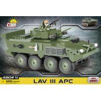 Cobi Malá armáda 2609 Lehký obrněný transportér LAV III AP