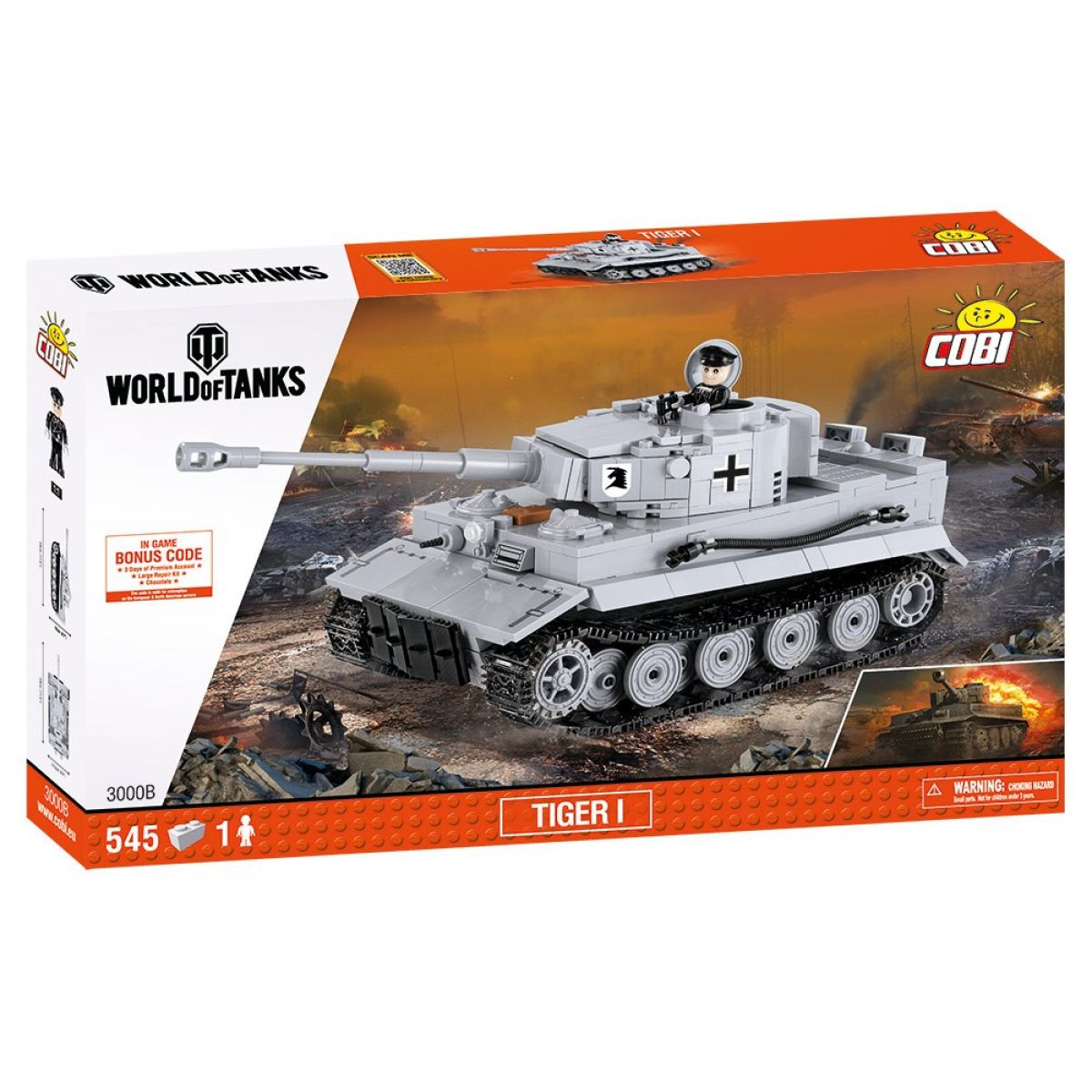 Cobi Malá armáda 3000B World of Tanks Tiger I