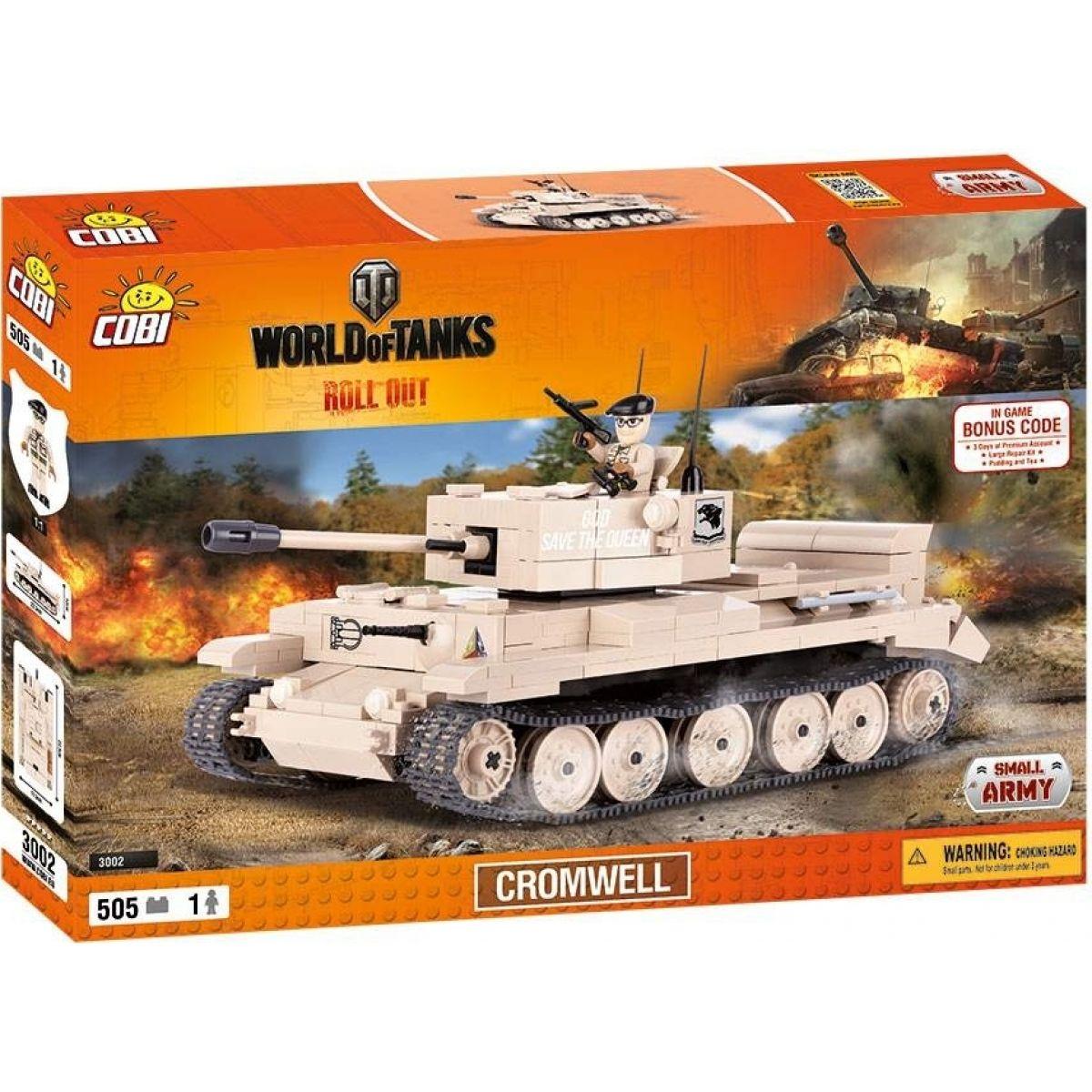 Cobi Malá armáda 3002 World of Tanks Cromwell