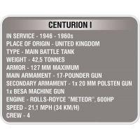 Cobi Malá armáda 3010 World of Tanks Centurion I 5