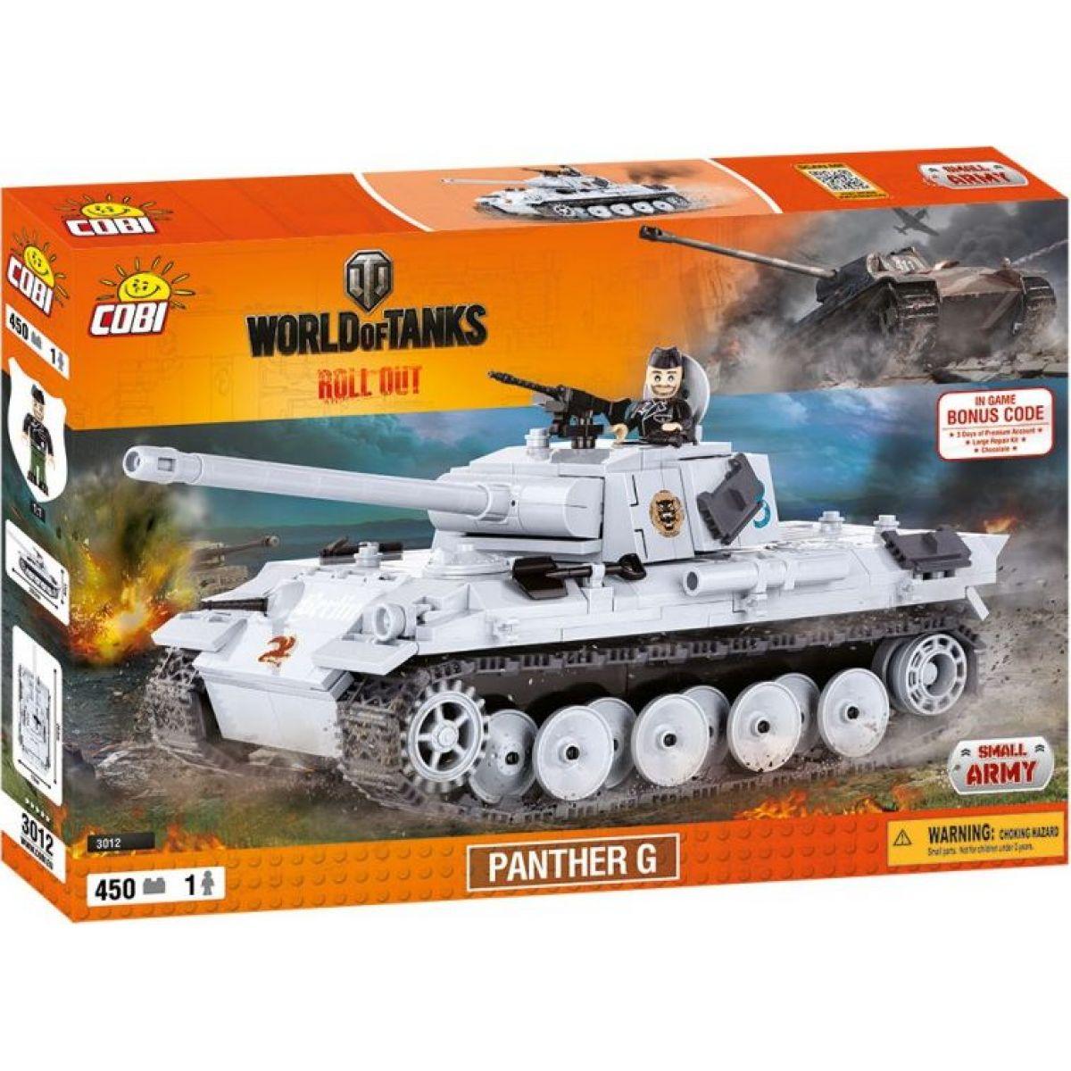 Cobi World of Tanks 3012 WOT Panther V Ausf G.