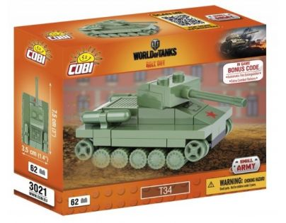 Cobi Malá armáda 3021 World of Tanks Nano Tank T-34