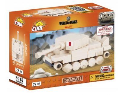 Cobi Malá armáda 3018 World of Tanks Nano Tank Cromwell