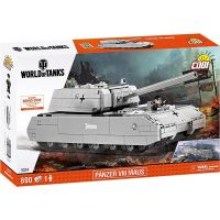 Cobi Malá armáda 3024  World of Tanks SdKfz 205 Panzer VIII Maus