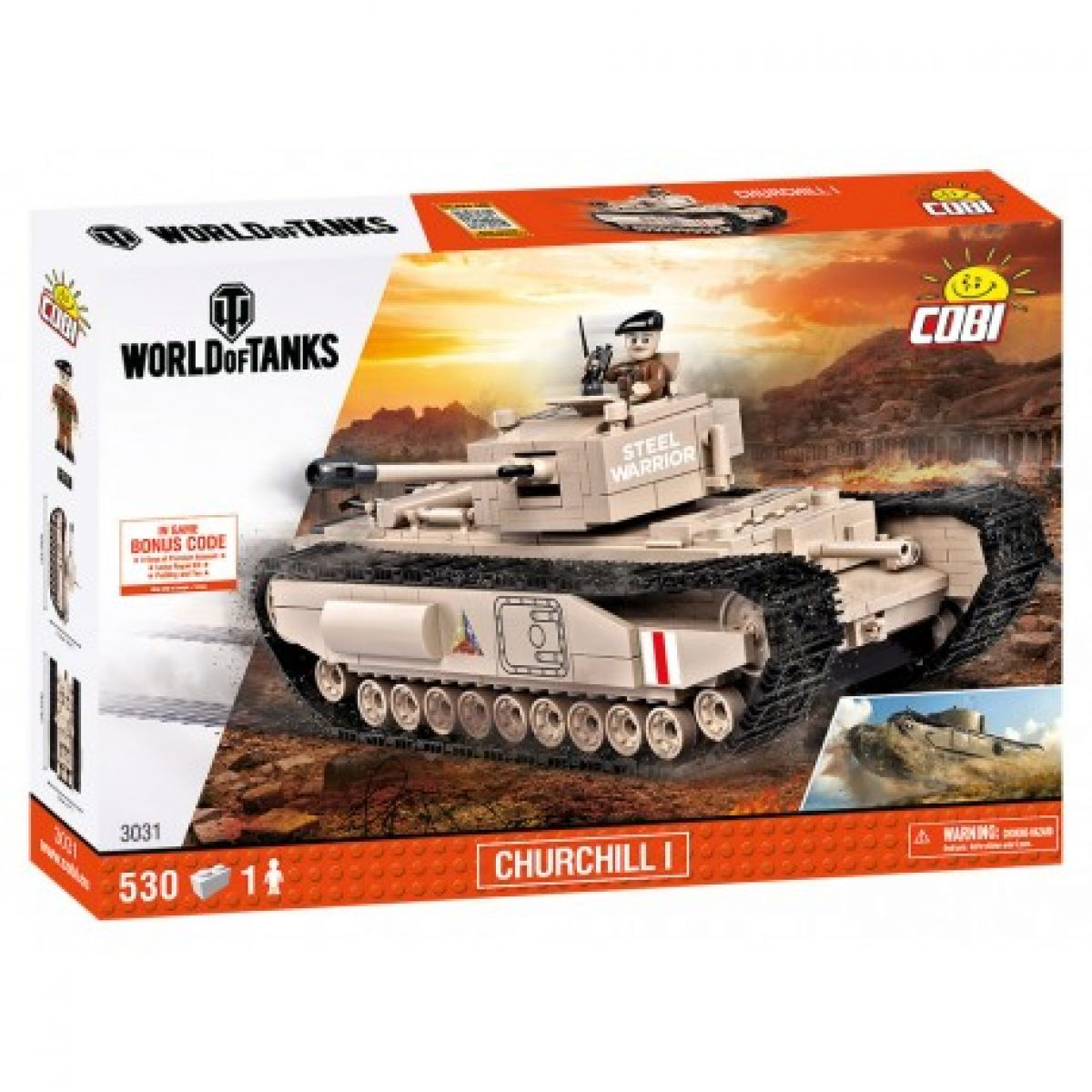 Cobi Malá armáda 3031 World of Tank Churchill I