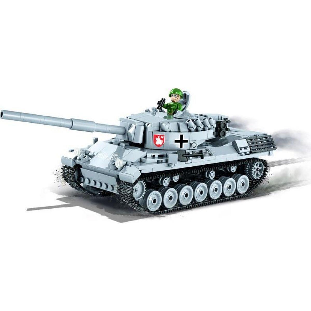 Cobi Malá armáda 3037 World of Tanks Leopard I - Poškodený obal