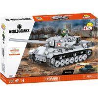 Cobi Malá armáda 3037 World of Tanks Leopard I - Poškodený obal 3