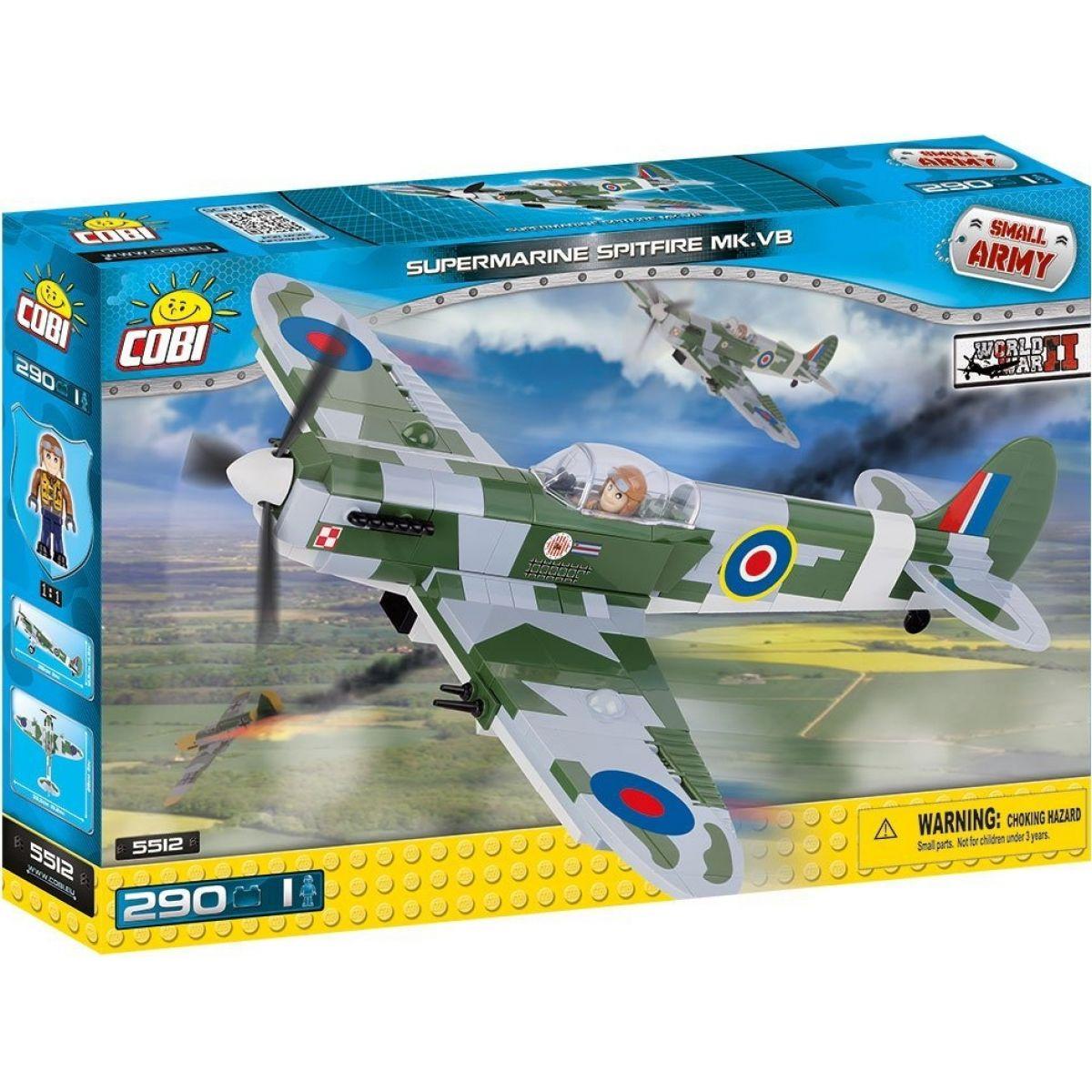Cobi Malá armáda 5512 Supermarine Spitfire