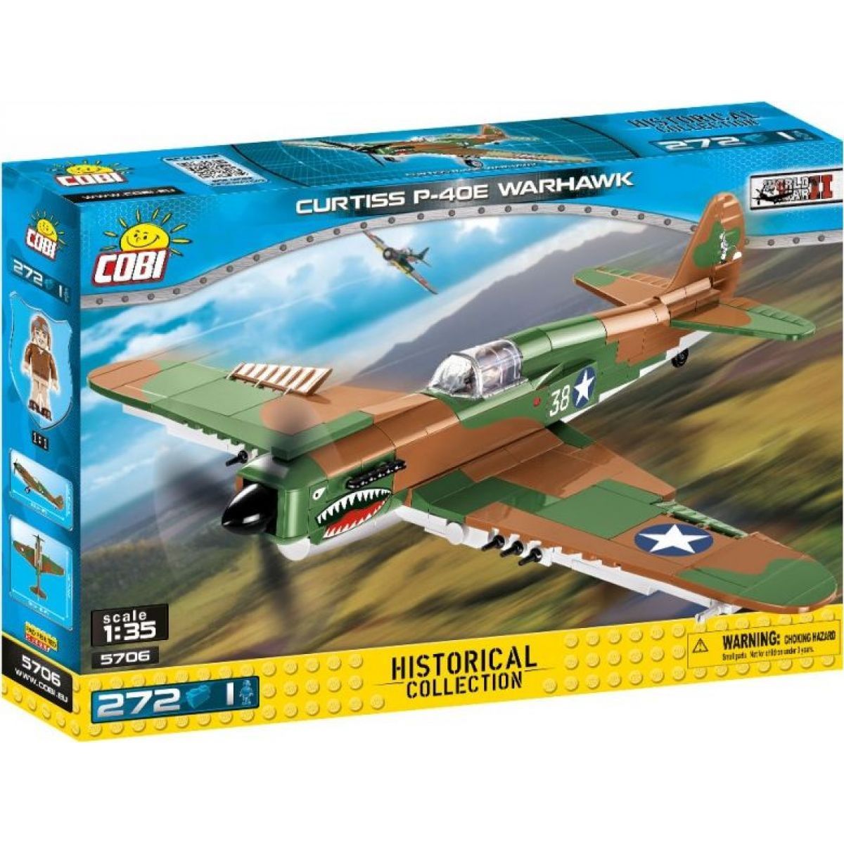 Cobi Malá armáda 5706 World of Tanks Tank Curtiss P-40E Warhawk