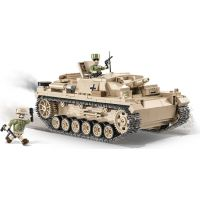 Cobi Malá armáda II. světová válka 2529 Sturmgeschutz III Ausf. D - DAK